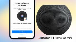 Apple HomePod Deezer