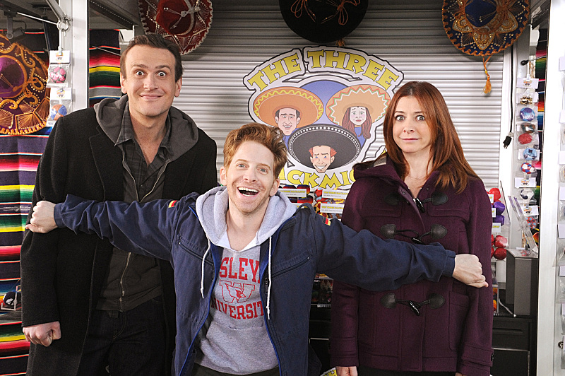 See Buffy's Seth Green And Alyson Hannigan Reunited In How I Met Your Mother Photos #24803