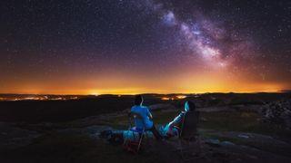 dark sky stargazing