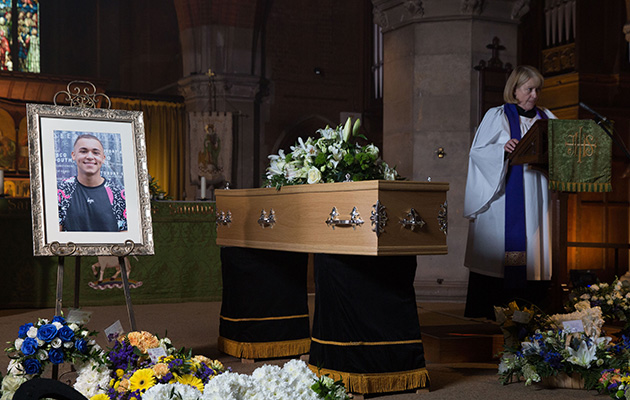 EastEnders releases images from Shakil's funeral