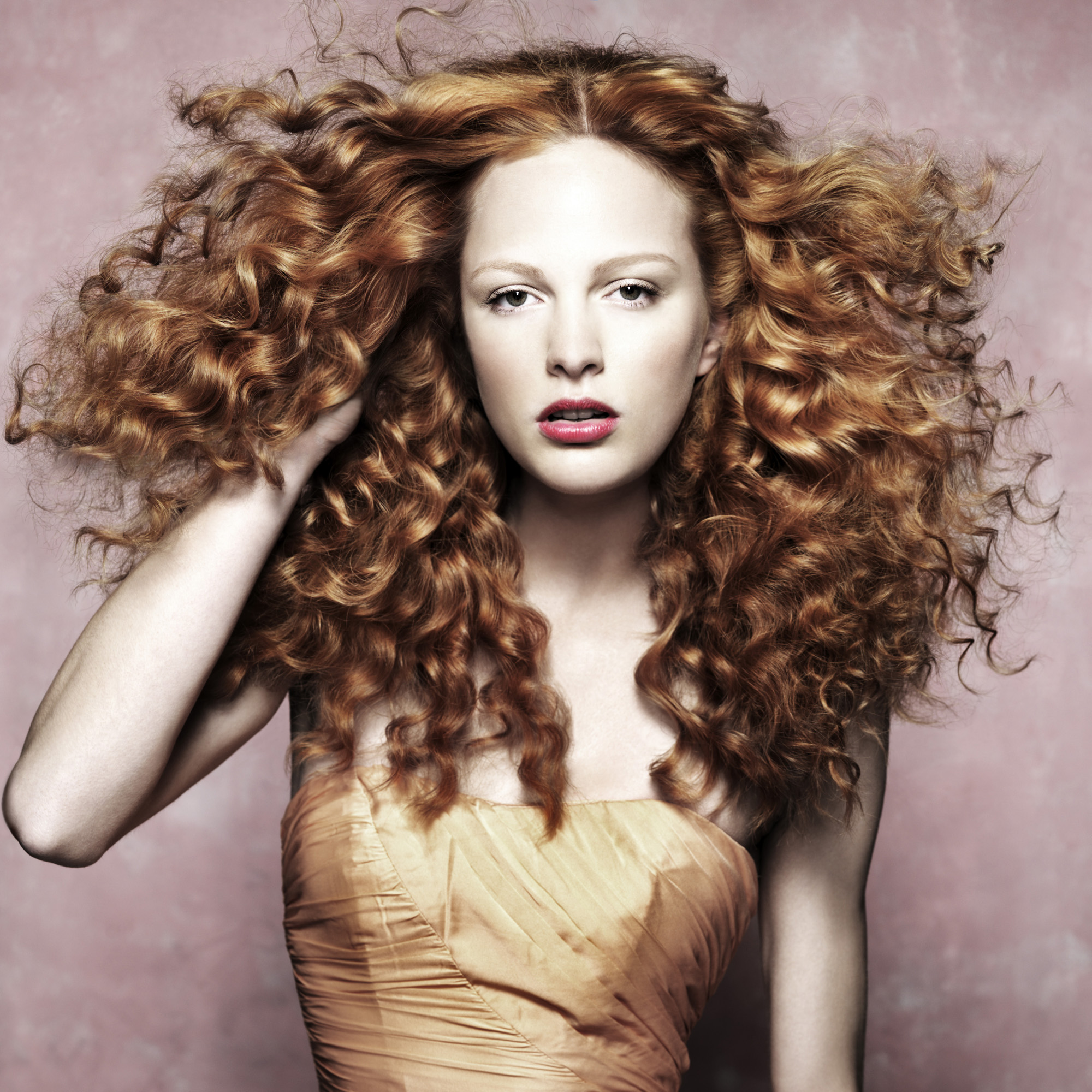 Summer Hair Ginger-beauty-woman and home