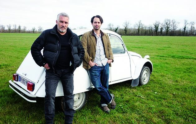Paul Hollywood is in France this week bowling along in a boxy Peugeot 205 GTI.