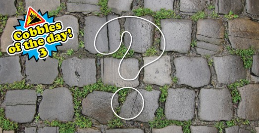 cobbles of the day 3