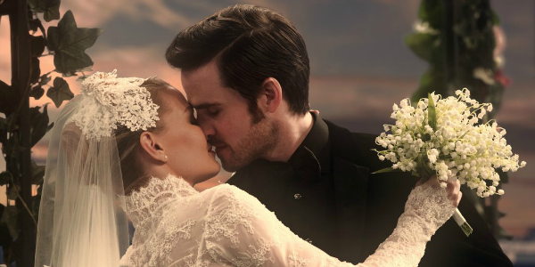 Emma and Hook on Once Upon a Time