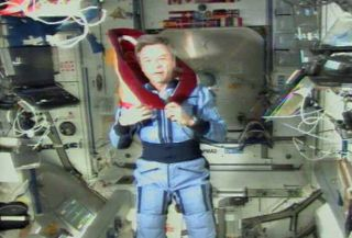 Astronaut Gets Honorary Degree in Space