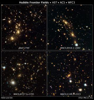 Hubble Frontier Fields