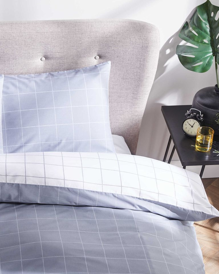 Aldi grey duvet set