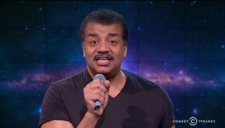 Neil deGrasse Tyson About to Drop Mic on B.o.B.