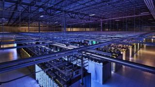 warehouse full of data servers