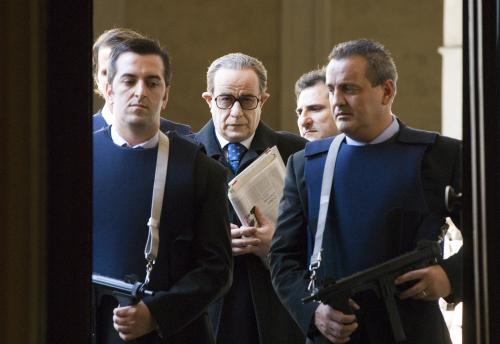 Il Divo - Toni Servillo plays enigmatic Italian politician Giulio Andreotti in Paolo Sorrentino's satirical film Il Divo