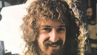 Barclay James Harvest founder Les Holroyd portrait from 1978