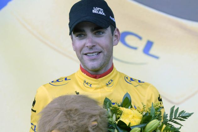 Tony Gallopin on stage nine of the 2014 Tour de France