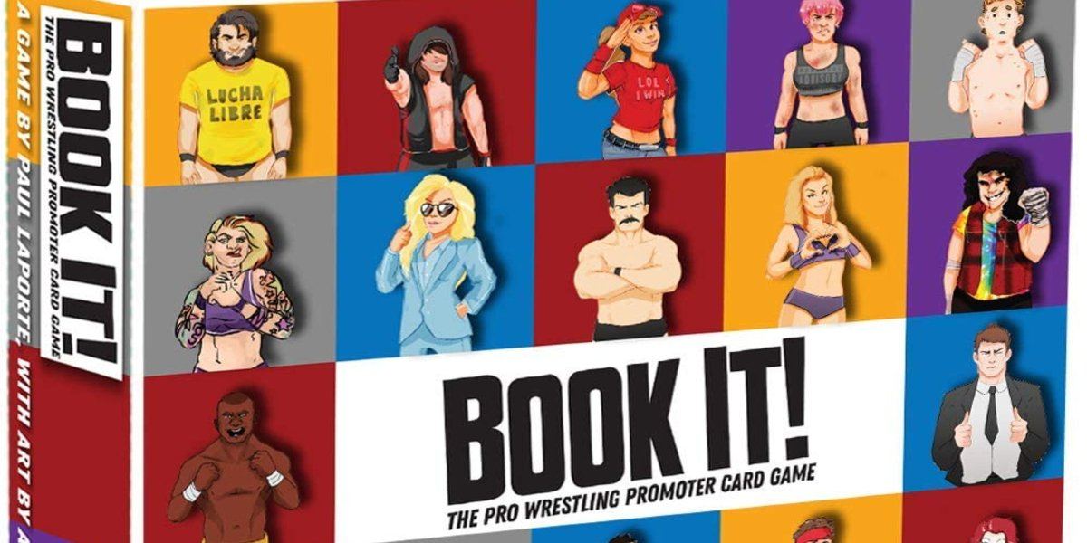Book It! The Pro Wrestling Promoter Card Game