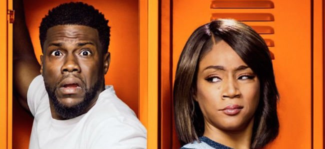Kevin Hart and Tiffany Haddish poster for Night School