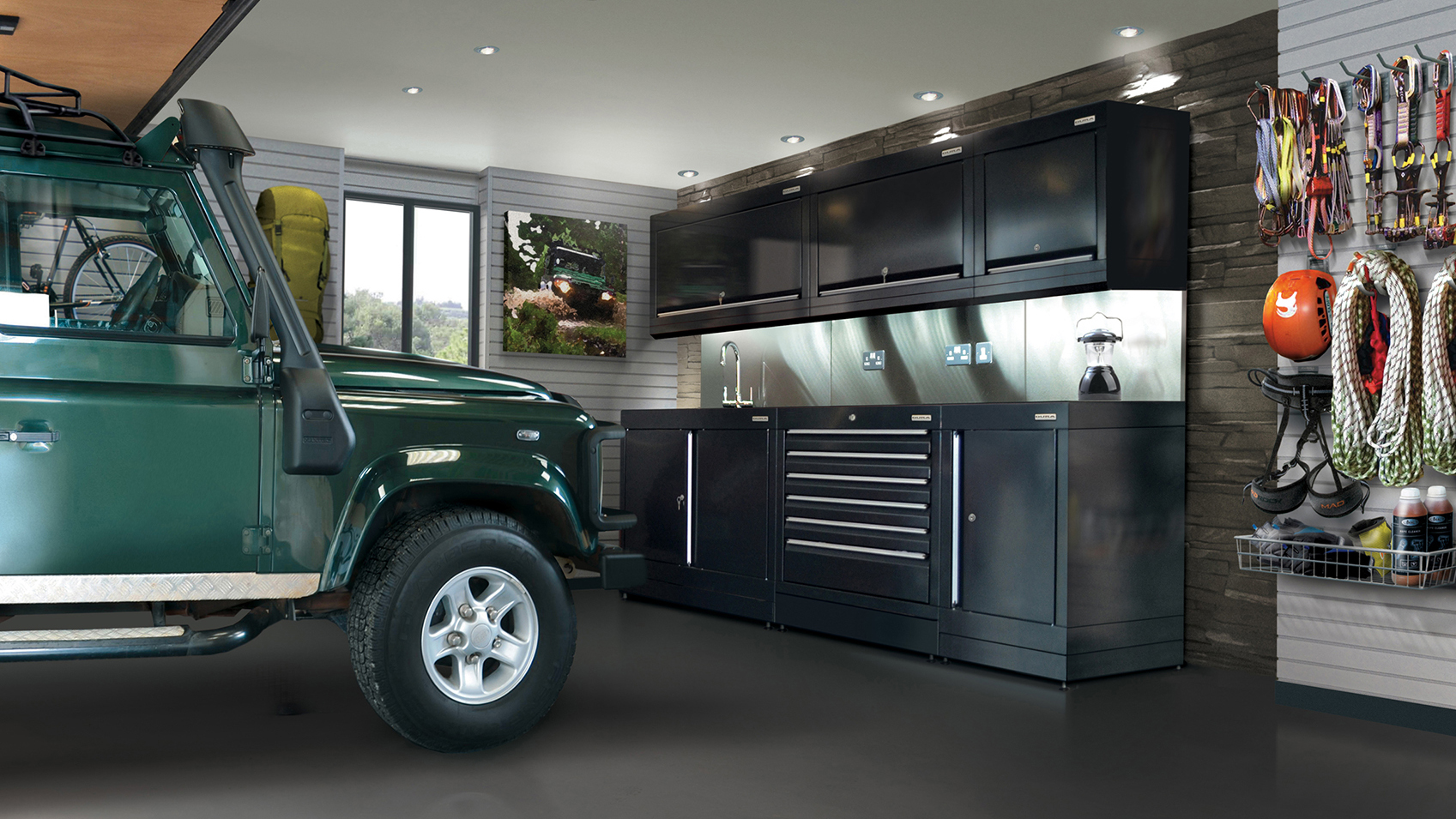 12 Garage Storage Ideas Make It Useful For More Than Just Parking The Car Real Homes