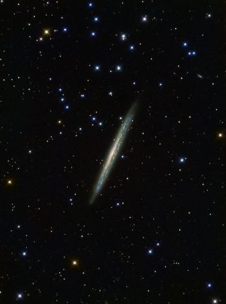 Knife Edge Galaxy NGC 5907 Terry Hancock 2013