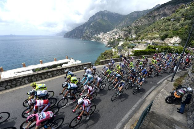 Amalfi coast, Giro d'Italia 2013, stage three