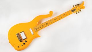 Prince yellow cloud guitar auction