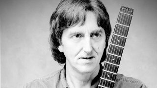 A press shot of allan holdsworth