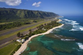 Oahu coastline, Hawaii
