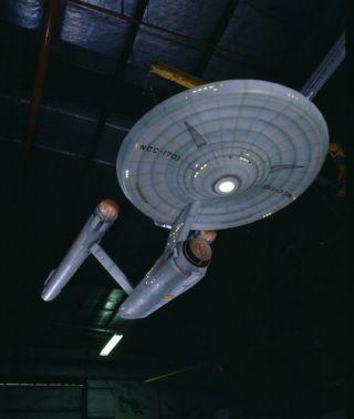 Model of the fictional starship Enterprise