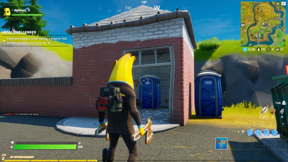 Fortnite Safe Houses Where To Find Shadow Safe Houses In Fortnite Pc Gamer