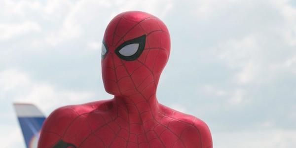 Spider-Man in Civil War's airport scene