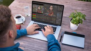 best animation software - screenshot from Adobe Character Animator