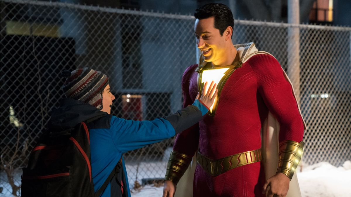 EXCLUSIVE: Shazam faces off against big bad Doctor Sivana in new images from the DCEU's next superhero film