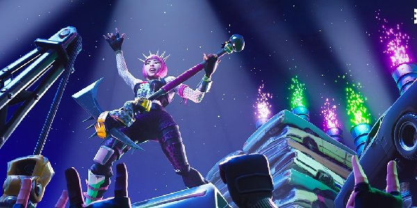 A Fortnite party.