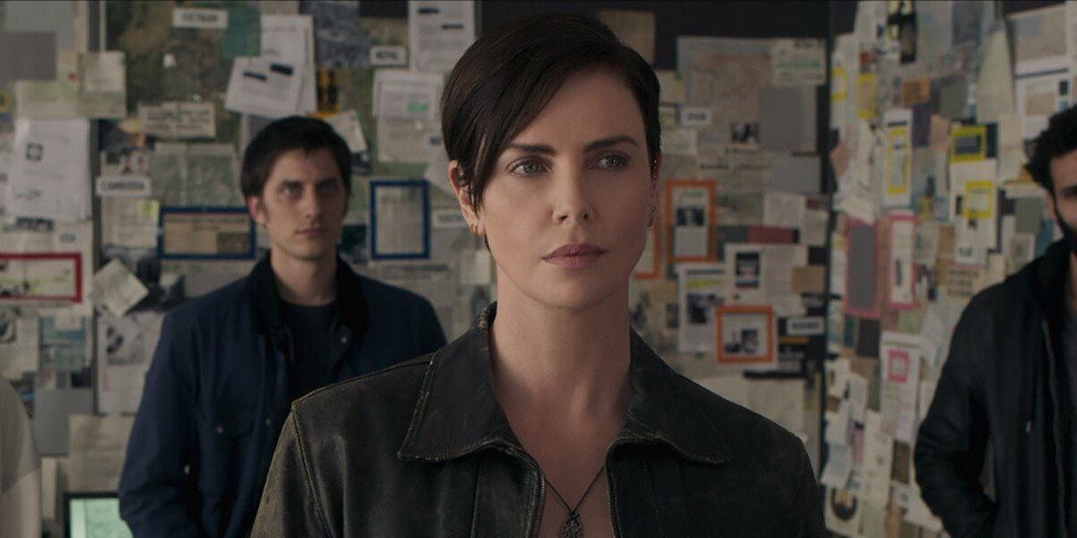 Charlize Theron as Andy in The Old Guard (2020)