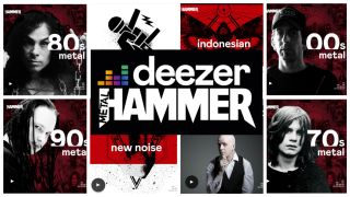 Metal Hammer announce partnership with global streaming service Deezer for interviews, curated playlists, special edition podcasts and much more