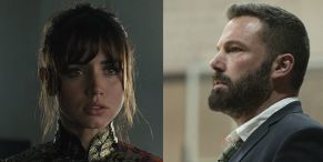 Ben Affleck And Ana De Armas Still Seem Totally In Love While Filming Scenes For Their New Movie Together