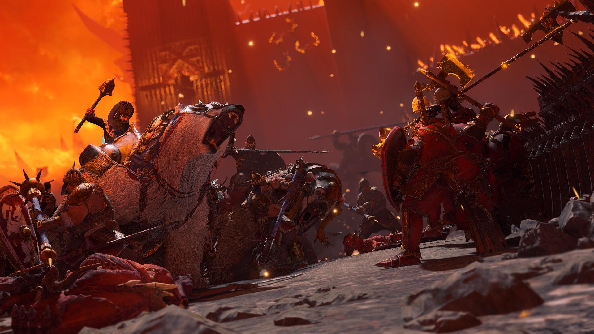 total war warhammer 3 preview battle