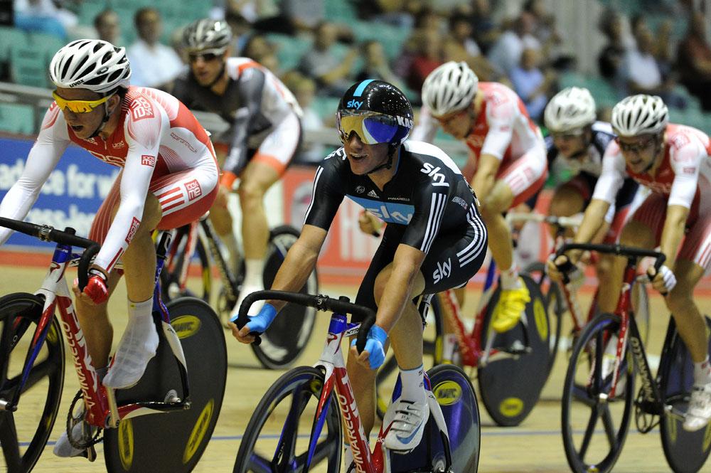 Peter Kennaugh, British Track National Championships 2011