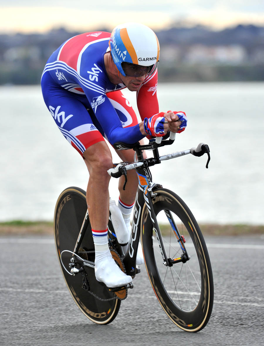 David Millar, silver, World Championships 2010, men