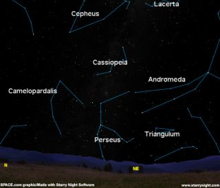 Viewer's Guide: Perseid Meteor Shower Peaks Aug. 11-12