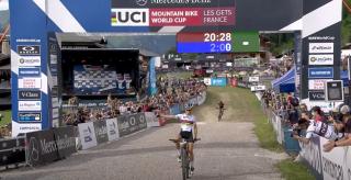 Pauline Ferrand-Prevot wins Les Gets Short TRack
