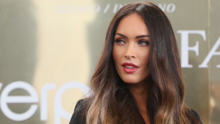 Actress Megan Fox attends a press conference during the Liverpool Fashion Fest Autumn/Winter 2017 at Liverpool Insurgentes on September 6, 2017 in Mexico City, Mexico.