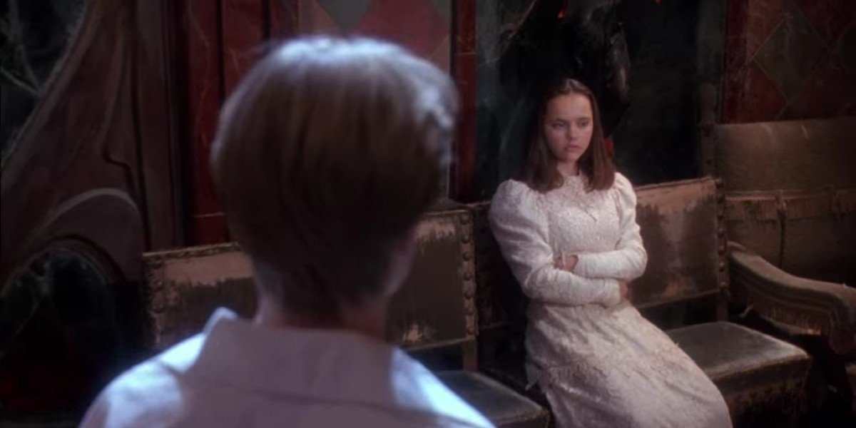 Devon Sawa and Christina Ricci in Casper