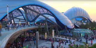 Tron Power Run at Shanghai Disneyland