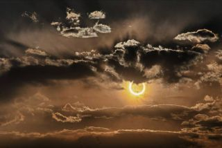 Solar Eclipse Outside Socorro, New Mexico, May 20, 2012