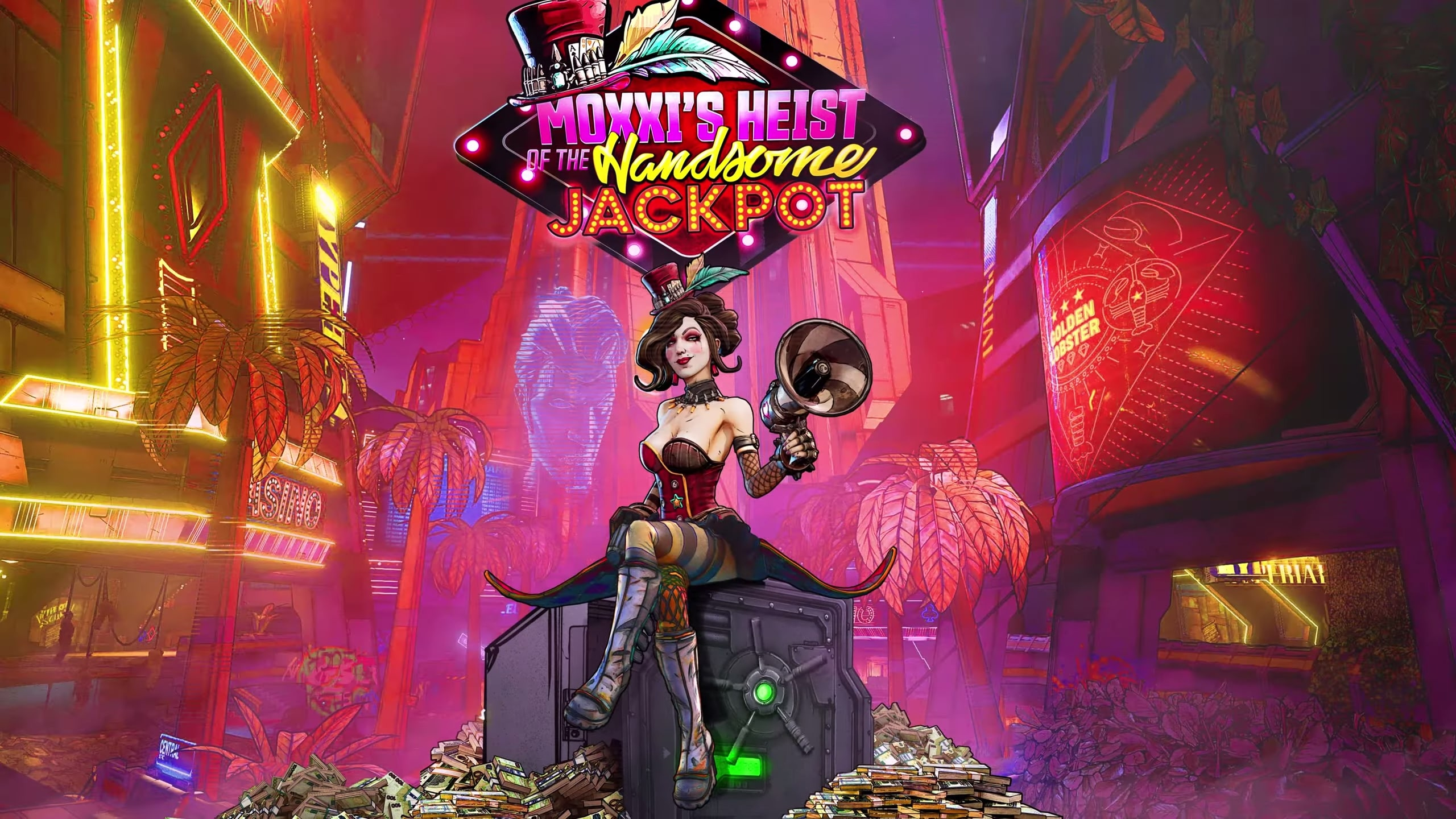 Borderlands 3 S First Dlc Pack Is Moxxi S Heist Of The Handsome