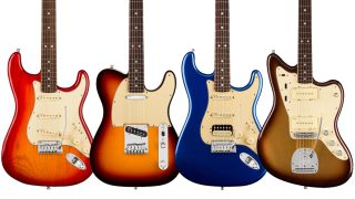 Fender American Ultra Series electric guitars