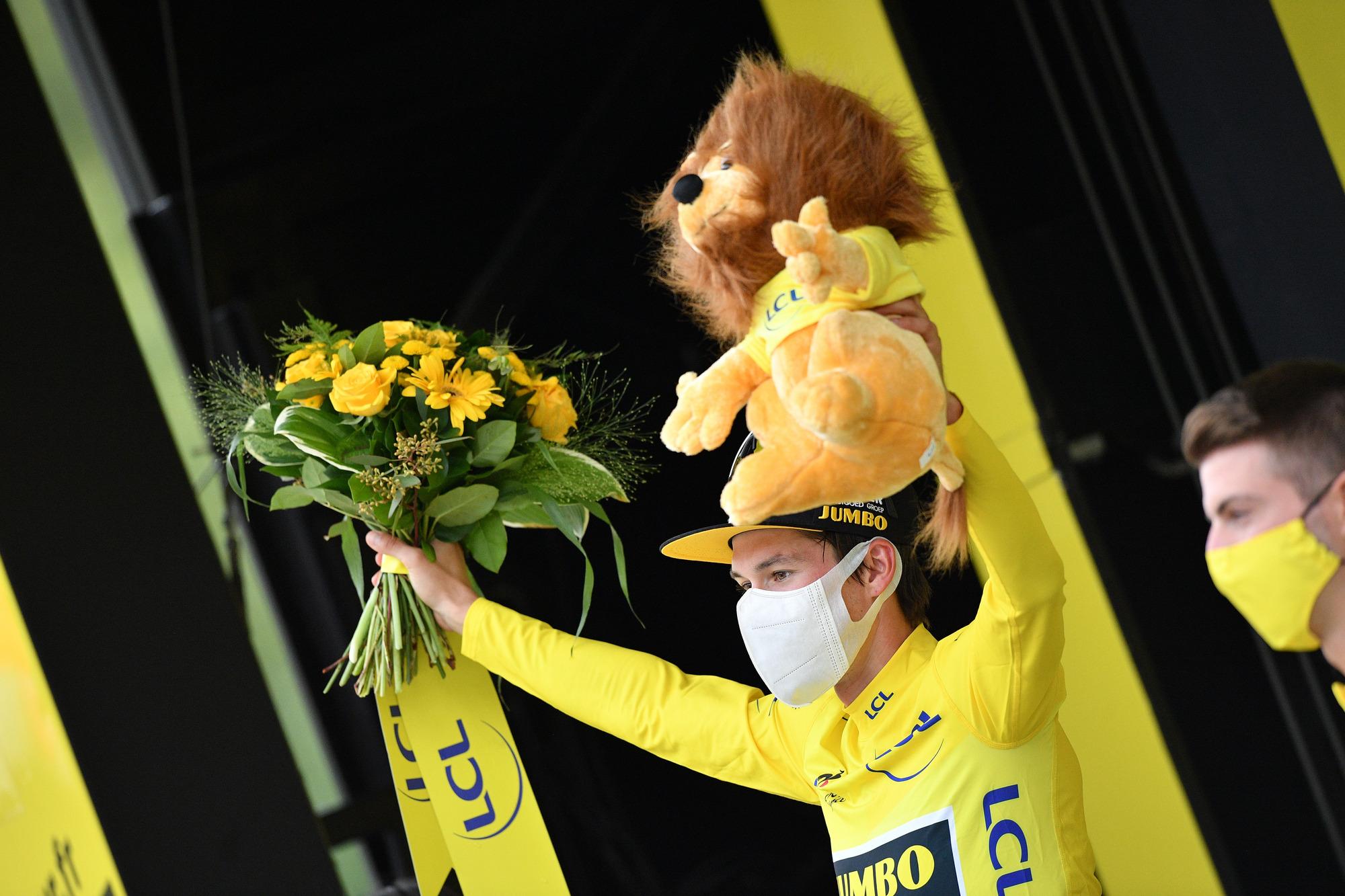 Tour de France 2020 - 107th Edition - 9th stage Pau - Laruns 153 km - 05/09/2020 - Primoz Roglic (SLO - Team Jumbo - Visma) - photo POOL/BettiniPhoto©2020