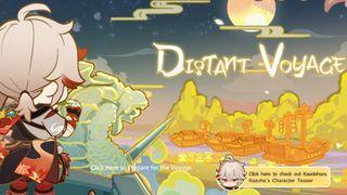 Genshin Impact Distant Voyage event