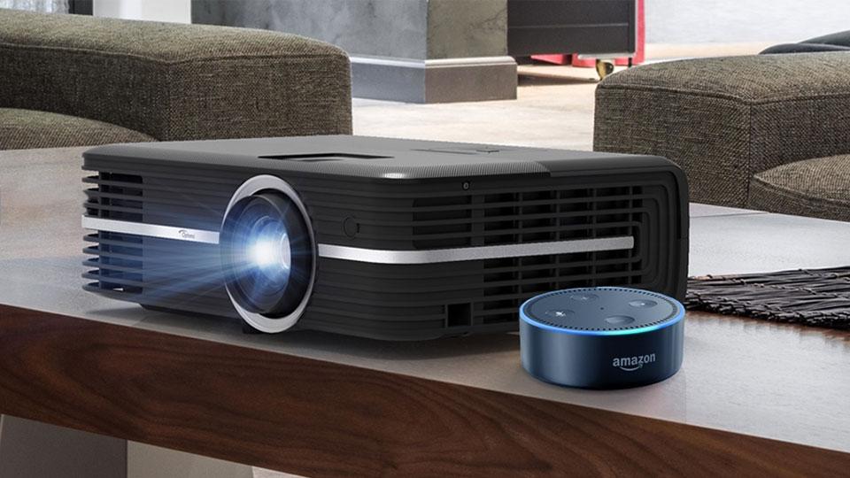 Optoma UHD51A 4K projector with Alexa review | TechRadar