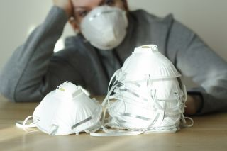 respirator mask cloth