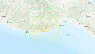 A magnitude 7.4 earthquake struck the southern coast of Oaxaca, Mexico on June 23, 2020
