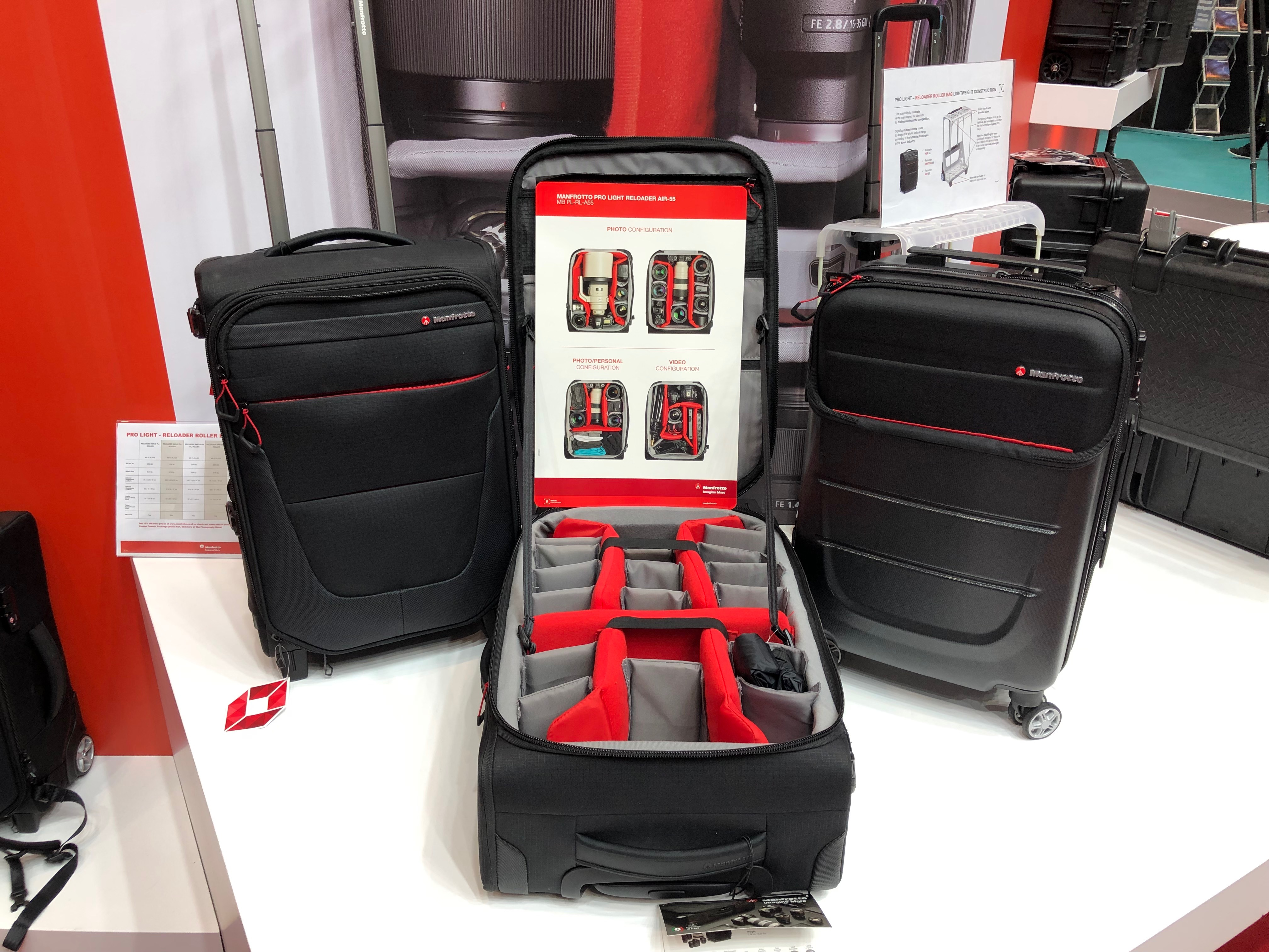 Manfrotto Pro Light Reloader: six new roller bags get wheeled out for a carry on